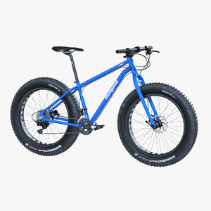 3D fat bike bicycle