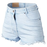 Shorts Jeans Light Blue Trims Clothing Fashion Women