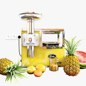 3D norwalk juicer model