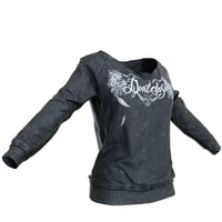 Pull Black Metal Decoration Clothing Women