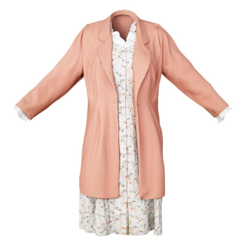 photorealistic clothing item model