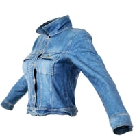 Jacket Slim Fit Dark Blue Jeans Closed Women Clothing