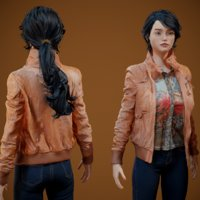 3D photorealistic clothing model
