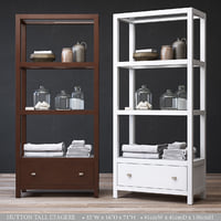 3D model hutton tall etagere