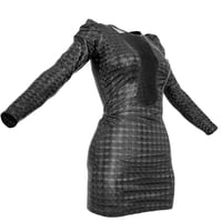 photorealistic clothing 3D model