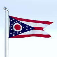 Animated Ohio Flag