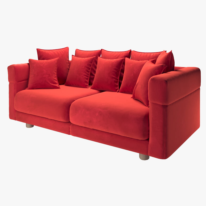 3d model ikea stockholm sofa turbosquid 1192299 for Stockholm sofa ikea
