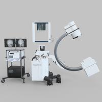 x-ray 3D model