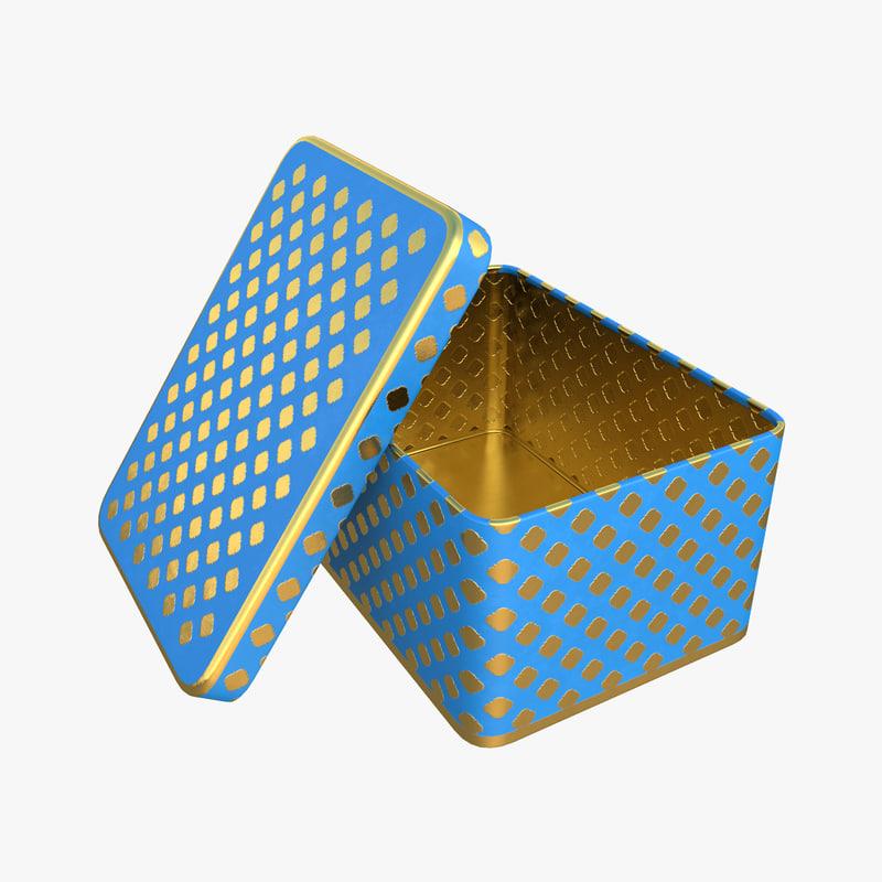 metal box model