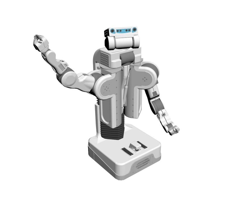 3D pr2 robot