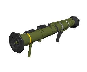 3D at4 rocket launcher