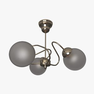 3D lamp ceiling chandelier