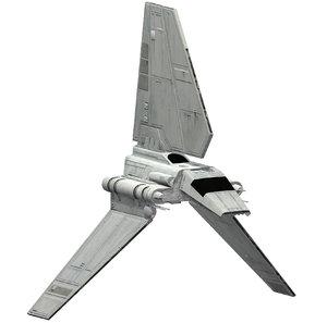 3D ready shuttle imperial model