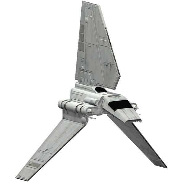 3D ready shuttle imperial model