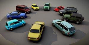 generic passenger car pack model