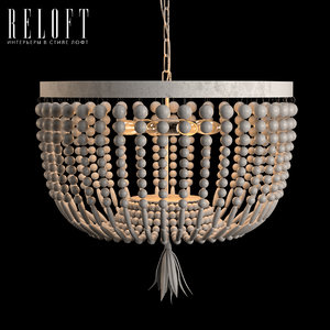 3D model ceiling lamp 103497 wood
