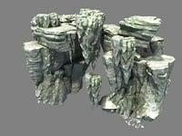 3D stone models3