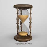 Hourglass animated