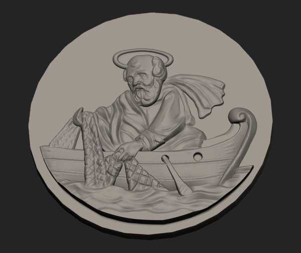 3D st peter fisherman printing