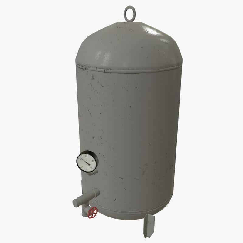 unity boiler 3D