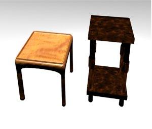 3D tables model