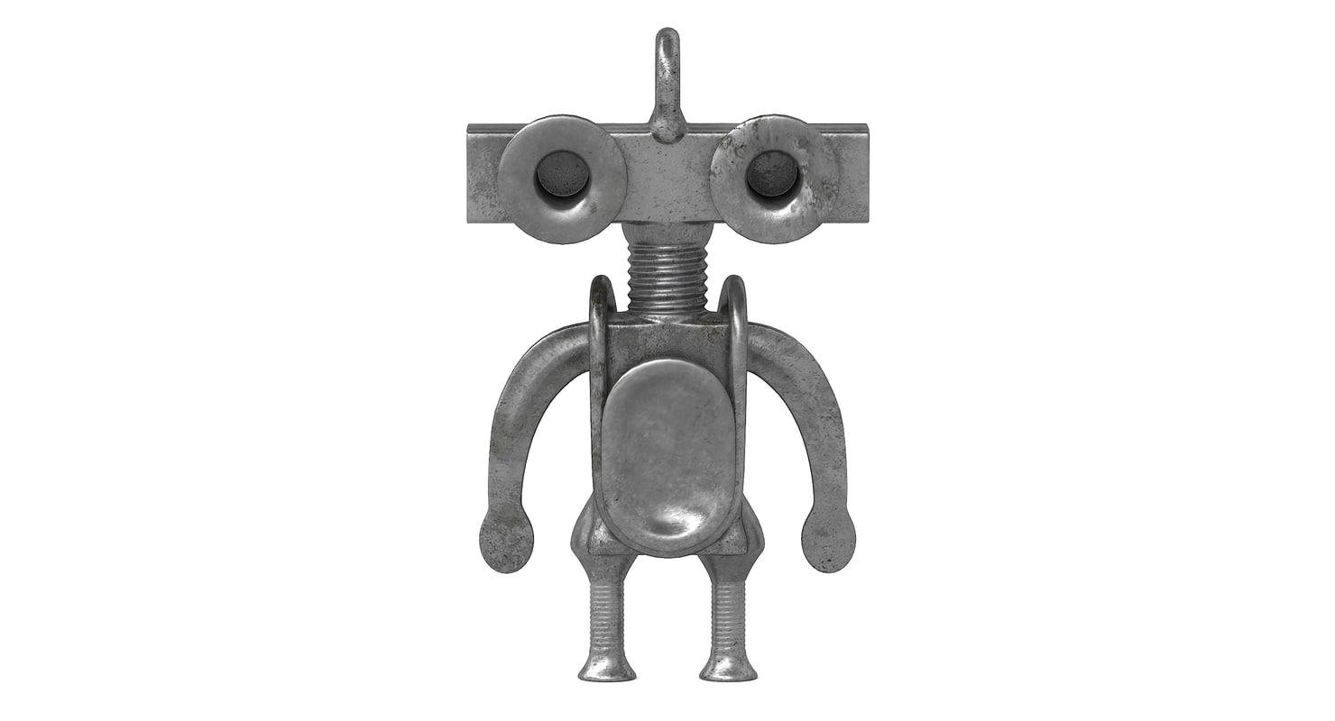 steampunk creature 3D