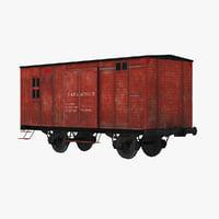 train car 3D