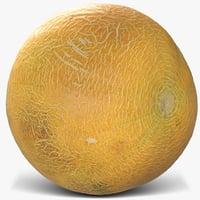 3D melon 3