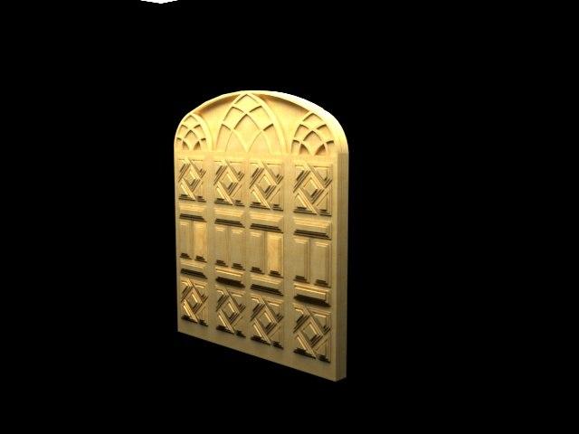 door architecture 3D