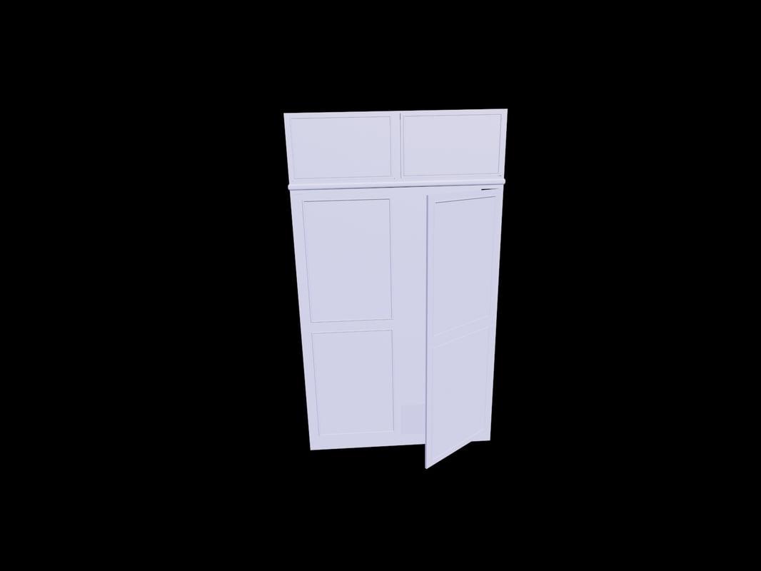 simple cupboard 3D model