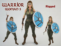 Warrior woman 3