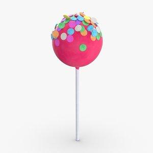 3D cake-pops---pink-large-sprinkles