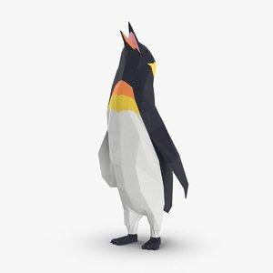 penguin----singing 3D model