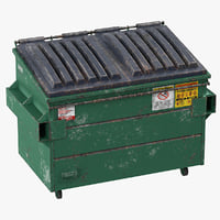 3D dumpster