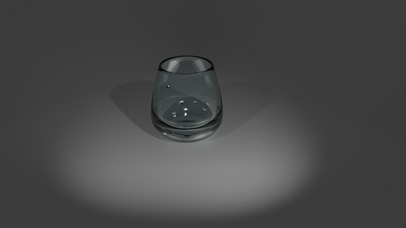 scotch glass 3D model