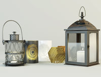 3D model lanterns jysk