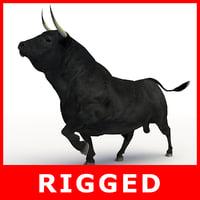 Bull (Rigged)