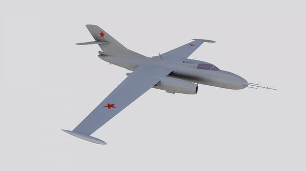 3D yak-25 rv mandrake yak-25rv model