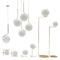 flos ic lights set 3D model