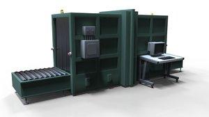 3D cargo screener