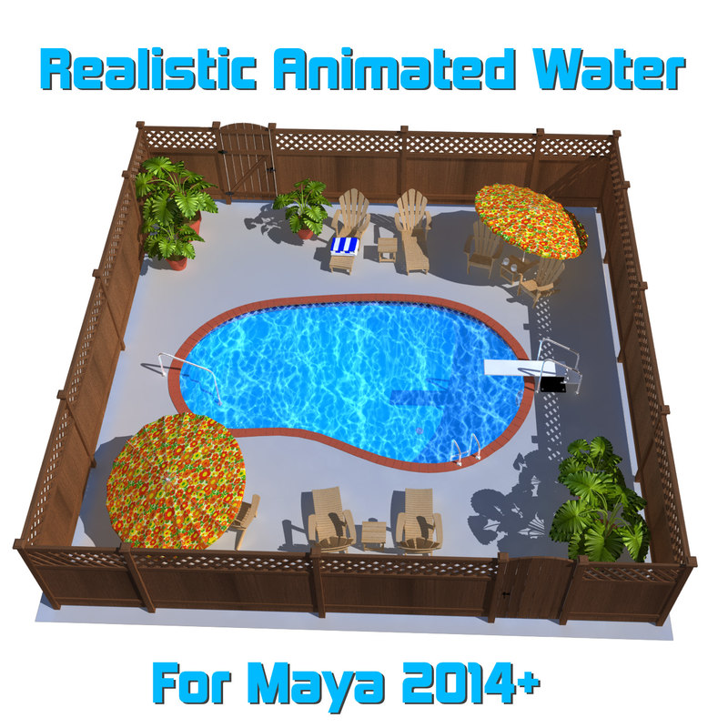 swimming pool 3D