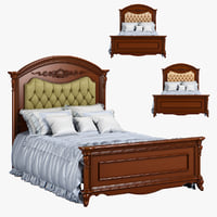 3D model 230-1 carpenter bed plan
