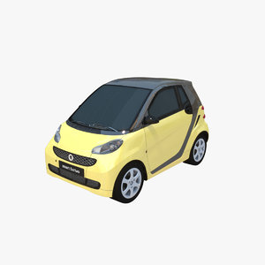 smart fortwo c451 3D model