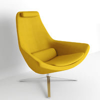 Jeffrey Bernett Metropolitan Seating Chair for Revit
