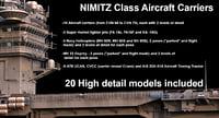 3D nimitz class aircraft carriers