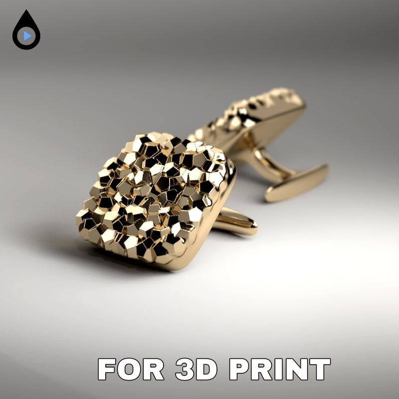 cufflink print model