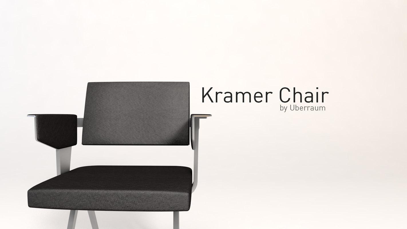 3D kramer chair model