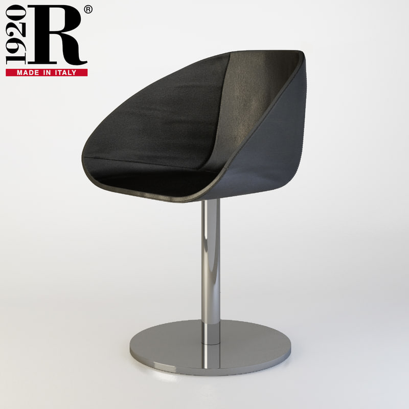 3D riva chair model