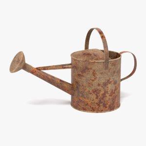 3D model rusty watering