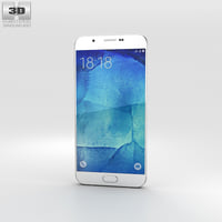 3D model samsung a8 galaxy